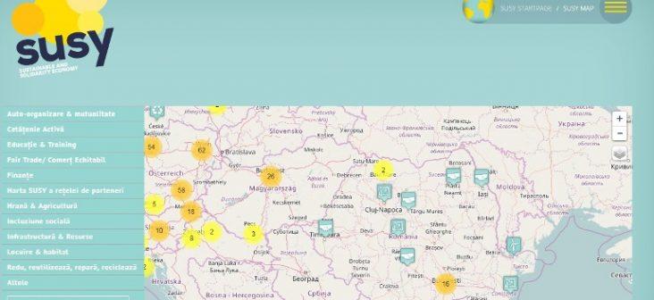 Harta economiei sociale și solidare în Europa